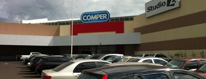 Comper is one of Lugares favoritos de Aline.