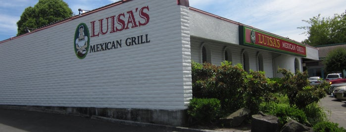 Luisa's Mexican Grill is one of Tempat yang Disukai Robby.