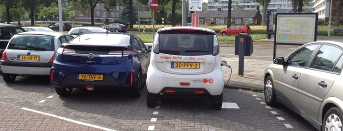 Laadpaal Osdorperplein is one of Arnoud's EV charging stations.