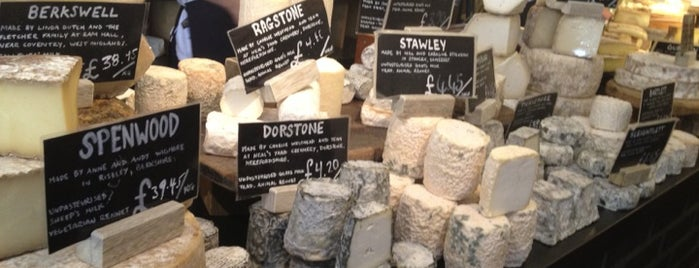 Neal's Yard Dairy is one of Visiting London.