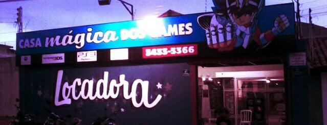 Casa Mágica dos games is one of Pra fazer em Marília City!.
