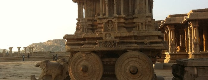 Hampi is one of The Bucket List.