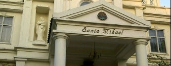 Santo Mikael Church is one of Bali.