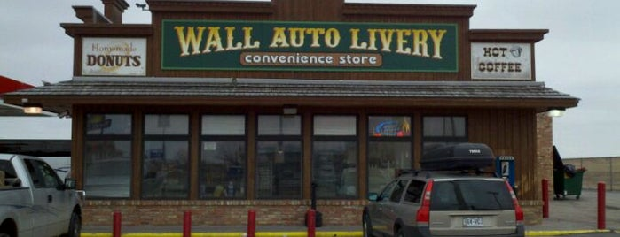 Wall Auto Livery Convenience Store / Conoco is one of Dan's Liked Places.