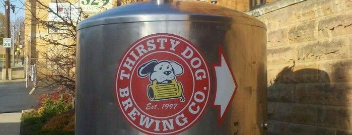 Thirsty Dog Brewing Company is one of Best US Breweries--Brewery Bucket List.