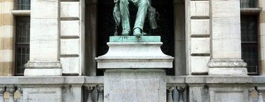 Hendrik Consienceplein is one of 80 must see places in Antwerp.