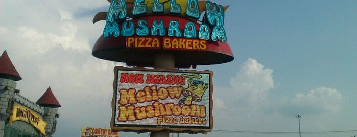 Mellow Mushroom is one of Lieux qui ont plu à Jason.