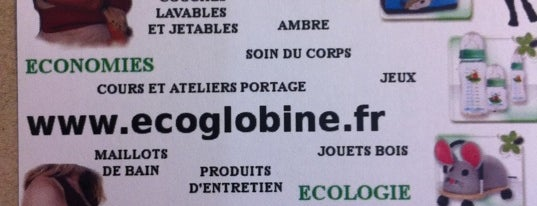 ECOGLOBINE is one of Lieux sauvegardés par anthony.
