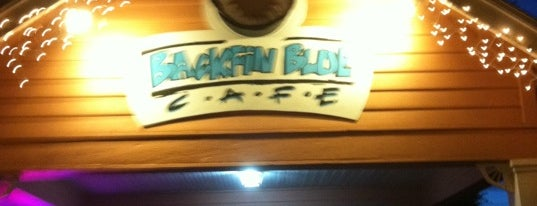 Backfin Blue Cafe is one of To Visit.