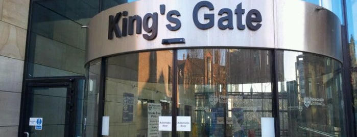 King's Gate is one of Newcastle University.