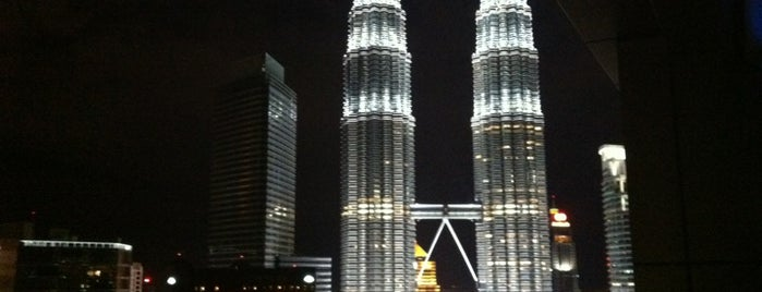 SkyBar Kuala Lumpur is one of SOUTH EAST ASIA Dining with a View.