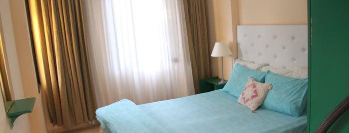 ev tadında tatil   phellos apart otel