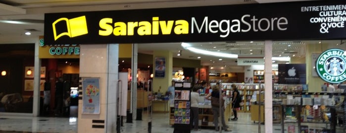 Saraiva MegaStore is one of Tania 님이 저장한 장소.