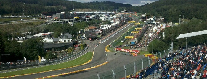 Circuit de Spa-Francorchamps is one of Bucket list.