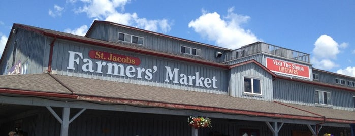 St. Jacobs Farmers' Market is one of Guide to Waterloo's best spots.