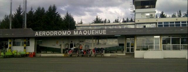 Aeródromo Maquehue is one of Lugares frecuentes.