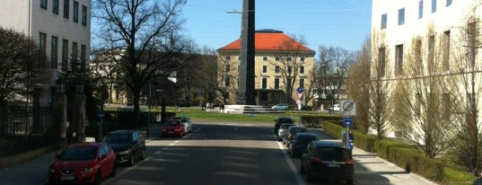 Karolinenplatz is one of StorefrontSticker #4sqCities: Munich.