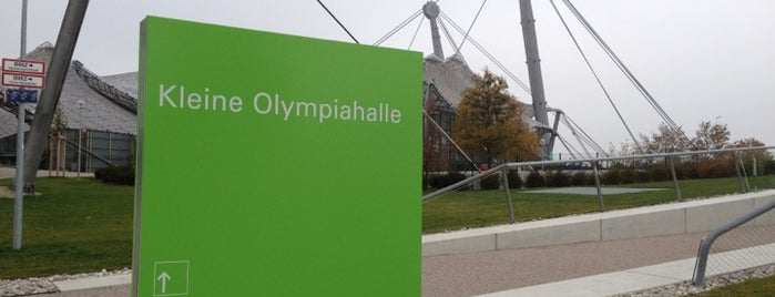 Kleine Olympiahalle is one of UEFA Champions Festival.