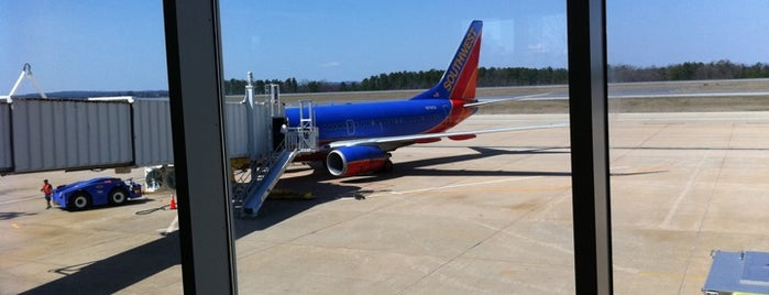 Greenville-Spartanburg International Airport (GSP) is one of World Airports.