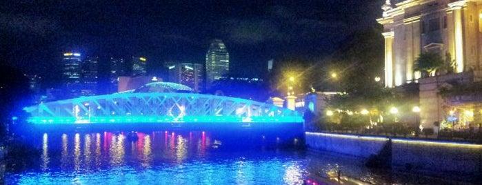 Cavenagh Bridge is one of Singapore/シンガポール.