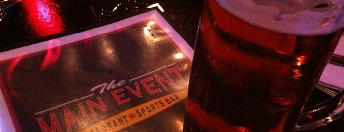 The Main Event is one of Beer.