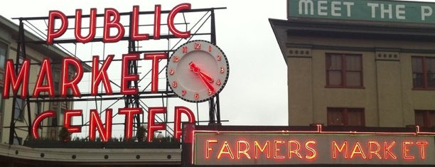 Pike Place Market is one of 2012 MLA Seattle.
