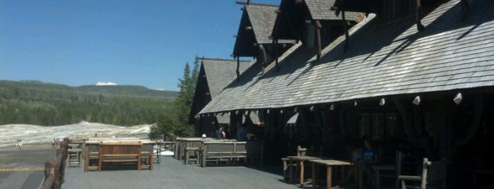 Old Faithful Visitor Center is one of Rockies trip.