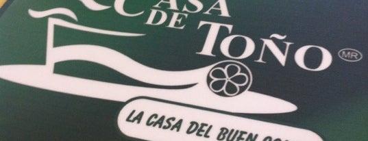 La Casa de Toño is one of Favoritos.