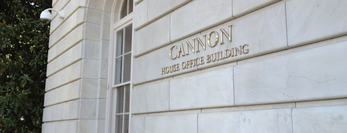 Cannon House Office Building is one of A Not So Tourist Guide to DC.