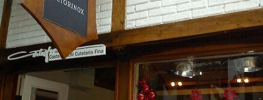Victorinox is one of Tempat yang Disimpan Fabio.