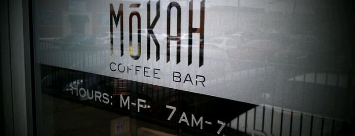 Mokah Coffee & Tea is one of Dallas Coffee And Cafes.