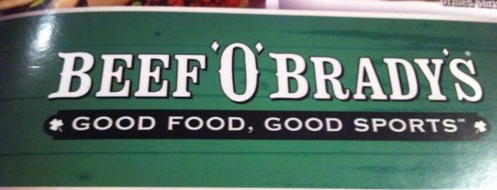 Beef 'O' Bradys is one of Best Restaurants in Savannah.