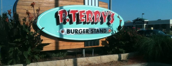 P. Terry's Burger Stand is one of Places to eat.