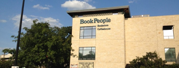 BookPeople is one of Austin.