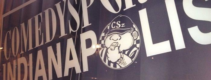 CSz Indianapolis-Home of ComedySportz is one of Lugares favoritos de Daina.