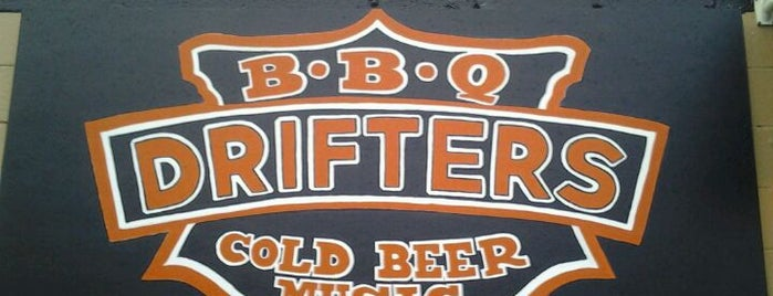 Drifters BBQ is one of Nashville.