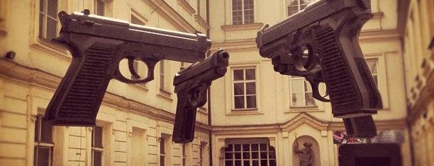 AMoYA - Artbanka Museum of Young Art is one of StorefrontSticker #4sqCities: Prague.