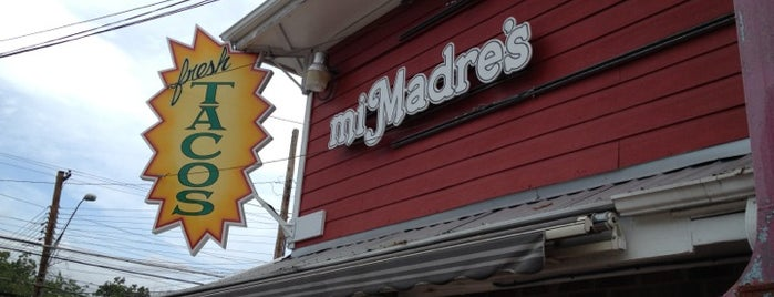 Mi Madre's Restaurant is one of The 38 Essential Austin Restaurants, July 2012.