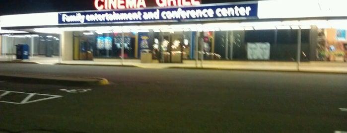 New Hope Cinema Grill is one of Tempat yang Disimpan Brooke.