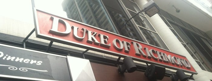Duke of Richmond is one of Caesar Deals in Toronto.