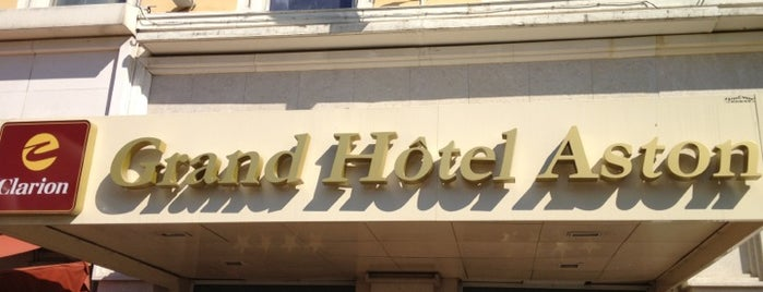 Grand Hotel Aston is one of Mujdat 님이 좋아한 장소.