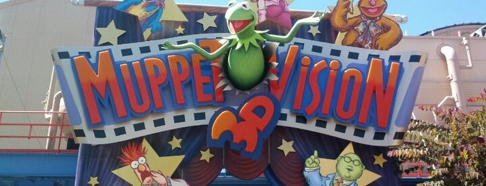 Muppet*Vision 3D is one of My BEST of the BEST!.