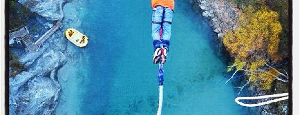 Kawarau Bridge Bungy is one of NZ to go.