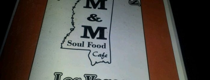 M&M Soul Food Cafe is one of Places to go in Vegas.