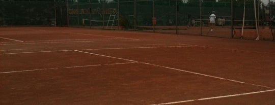 Clay Tennis Courts is one of Interesting....