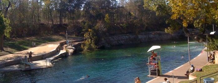 Barton Springs Pool is one of Austin, Texas.