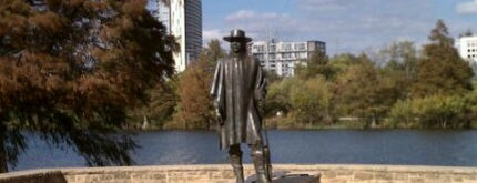 Stevie Ray Vaughan Statue is one of Iconic Austin.