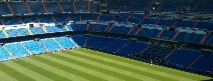 Estádio Santiago Bernabéu is one of Que visitar en Madrid.