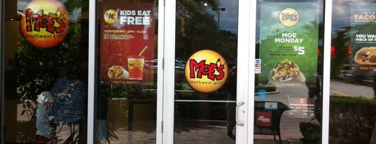 Moe's Southwest Grill is one of Beau's Liked Places.