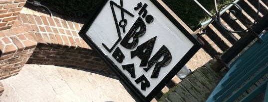 The Bar Bar is one of Savannah.